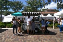 market crepe cart